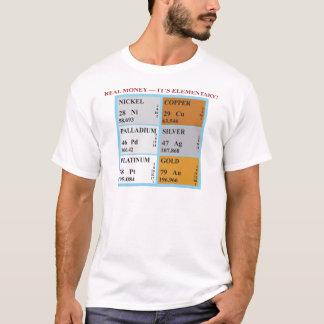 実質の金銭それは基本的です! Tシャツ