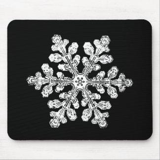 実質の雪片 マウスパッド