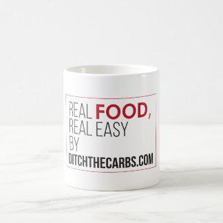 実質の食糧実質の容易なマグ コーヒーマグカップ
