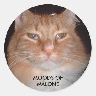 実質のMalone - MALONEの気分 ラウンドシール