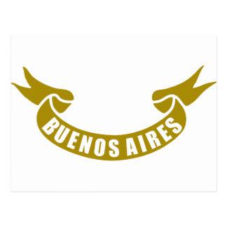 実質テープBuenos Aires ポストカード