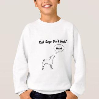 実質犬は、Arooo吠えません! スウェットシャツ