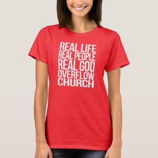 実質生命。 実質の人々。 実質の神 Tシャツ