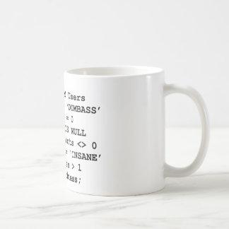 実質生命SQL コーヒーマグカップ