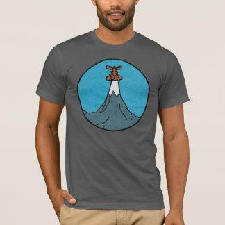 実際に大きい山のギフトショップのワイシャツ! Tシャツ