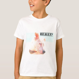 実際に犬の表現か。 Tシャツ