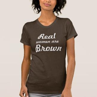 実際に茶色 Tシャツ