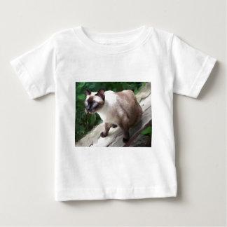 実際のところシャム ベビーTシャツ