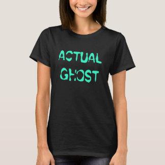 実際の幽霊 Tシャツ
