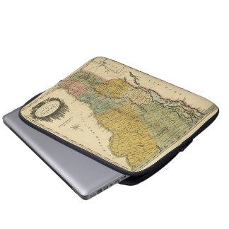 実際の調査-ヴィンテージ1814の地図からのヴァーモント、 ラップトップスリーブ