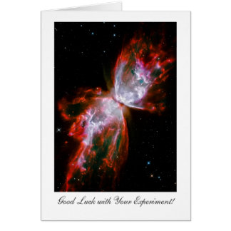 実験の幸運、蝶星雲の宇宙 カード