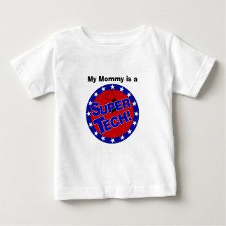 実験室によってすごいTECH! ベビーTシャツ