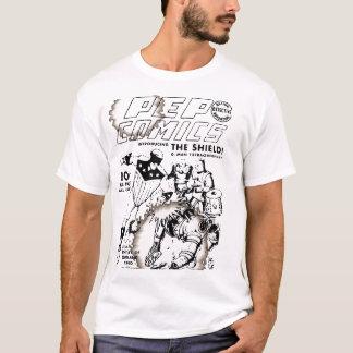 実験室の喜劇的な衝突によって忘れられる英雄#1 Tシャツ