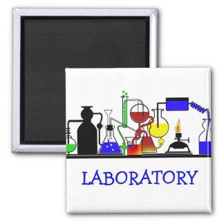 実験室製品-実験室のガラス器具の組み立て マグネット