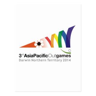 宣伝用資料第3アジア・太平洋Outgames ポストカード