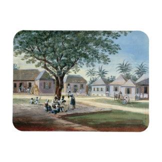 宣教師建物、St Johns、アンチグア(w/c マグネット