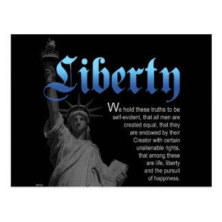 宣言される自由 ポストカード