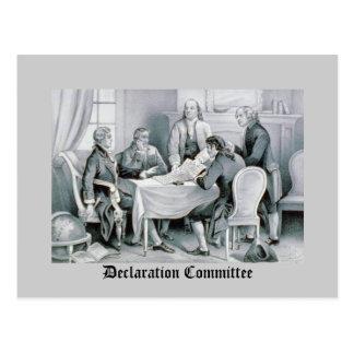 宣言委員会 はがき