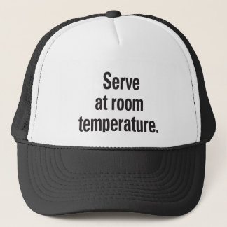 室温のサーブ キャップ