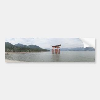宮島のtorii バンパーステッカー