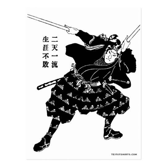 宮本武蔵 Miyamoto Musashi ポストカード
