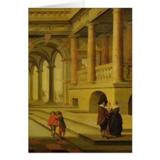 宮殿の中庭 カード