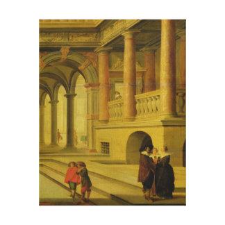 宮殿の中庭 キャンバスプリント