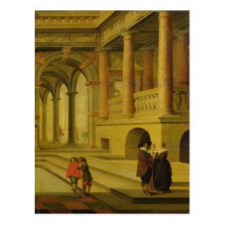 宮殿の中庭 ポストカード