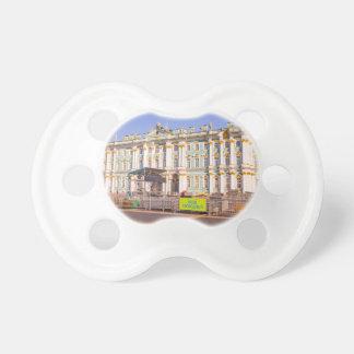 宮殿の正方形のセント・ピーターズバーグロシア白い夜 おしゃぶり