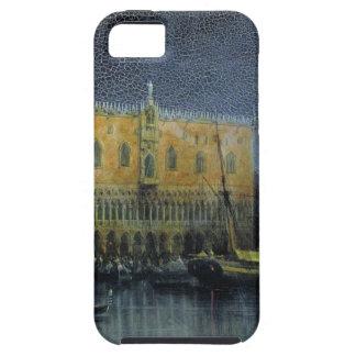 宮殿はAivazovskyによって月光によってベニスで雨が降ります iPhone SE/5/5s ケース