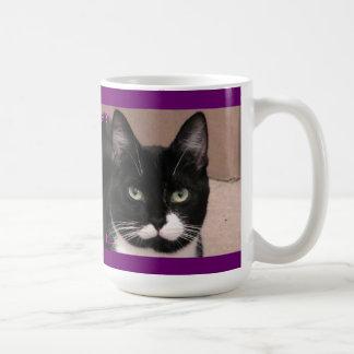 害のタキシード猫 コーヒーマグカップ