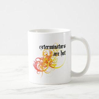 害虫駆除業者は熱いです コーヒーマグカップ