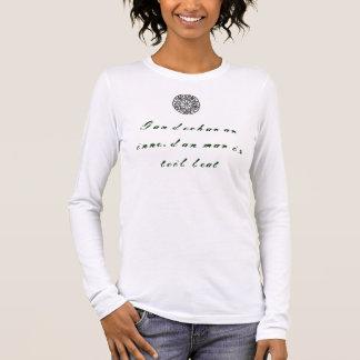 害yeゲール語のどれも 長袖Tシャツ