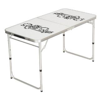 宴の男の子-テールゲートのサイズのPongのテーブル ビアポンテーブル