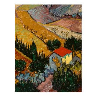 家およびすきとの景色 ポストカード