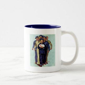 家からのウィリーGillisのパッケージ ツートーンマグカップ