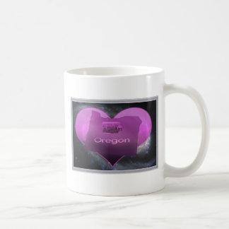 家のオレゴン コーヒーマグカップ