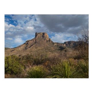 家のグランデピーク、Chisos盆地、大きいくねり ポストカード