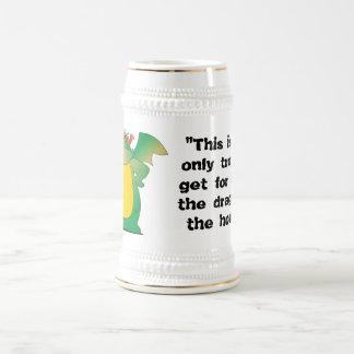 家のドラゴン ビールジョッキ