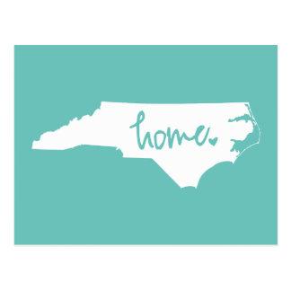 家のノースカロライナのカスタム色 ポストカード