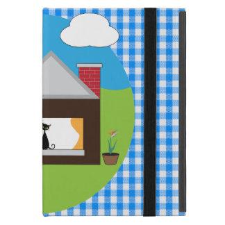 家のモデル iPad MINI ケース