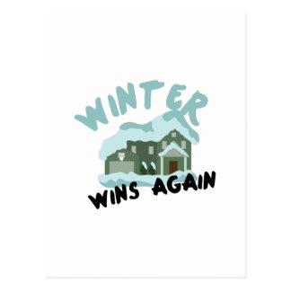 家の冬の勝利 ポストカード