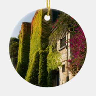 家の壁のカラフルの葉 セラミックオーナメント
