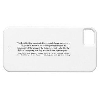 家の建物及び貸付け金連合v Blaisdell 290米国398 iPhone SE/5/5s ケース