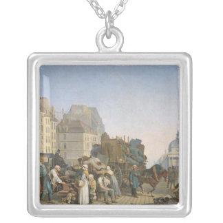 家の引越し業者1840年 シルバープレートネックレス