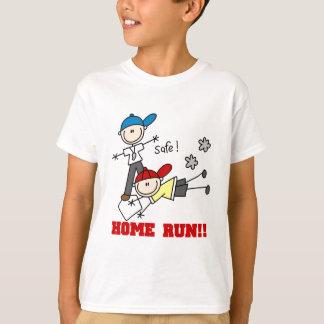 家の操業男の子の野球のTシャツおよびギフト Tシャツ