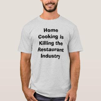 家の料理 Tシャツ