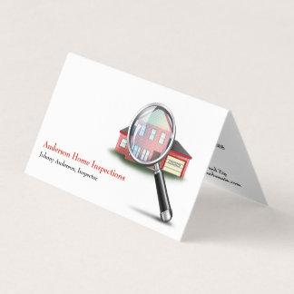 家の点検検査官の名刺 カード