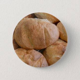 家の焼いたなパンの塊ボタン 5.7CM 丸型バッジ