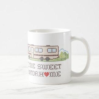 家の甘いキャンピングカー、クラスおもしろいの遠征 コーヒーマグカップ